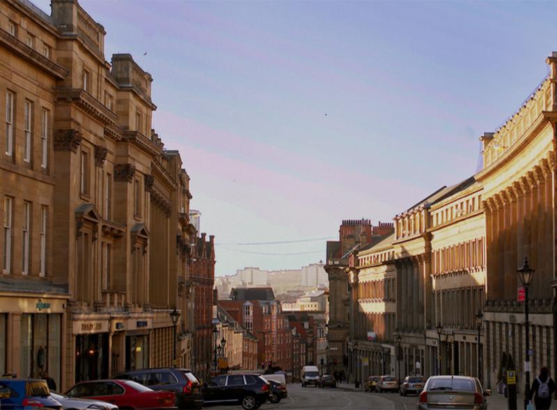 Apartamentos con servicios en Newcastle City Centre